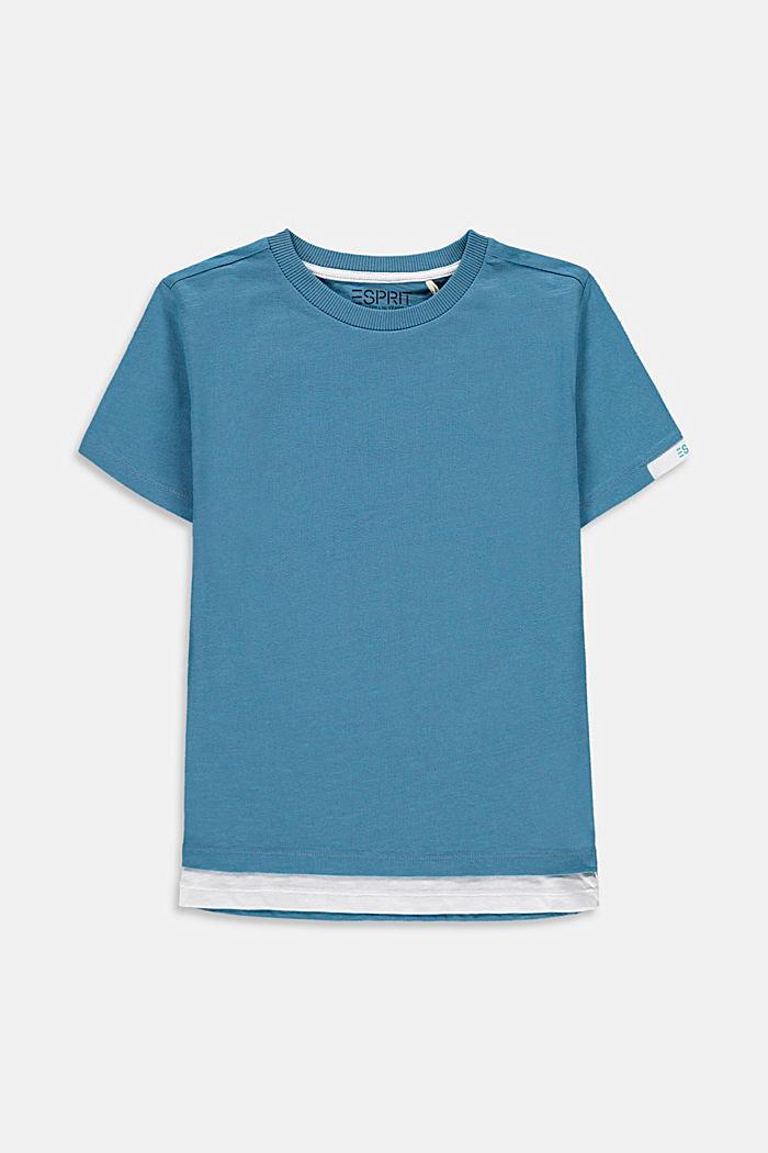 T-paita kerrosilmeellä 100 % puuvillaa