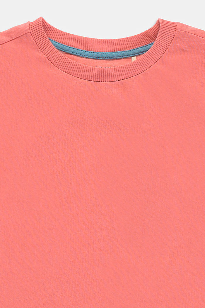 Layered-look T-shirt made of 100% cotton, DARK OLD PINK, detail image number 2