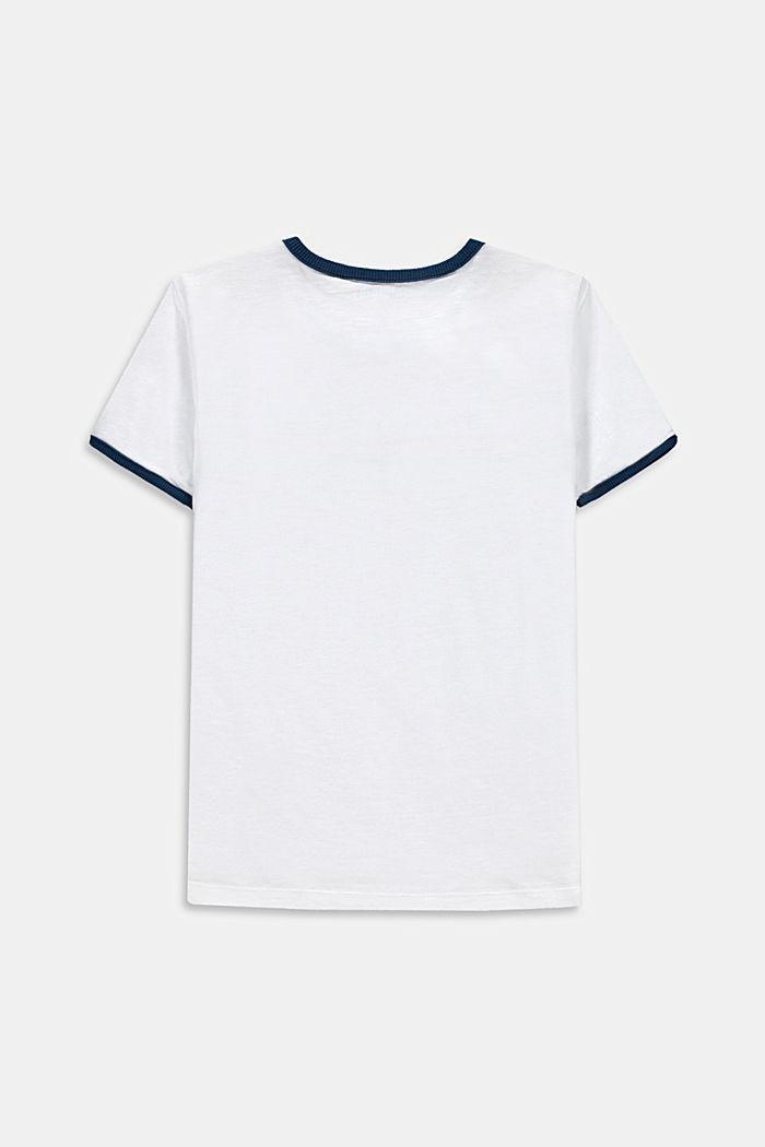 T-shirt met print, 100% katoen
