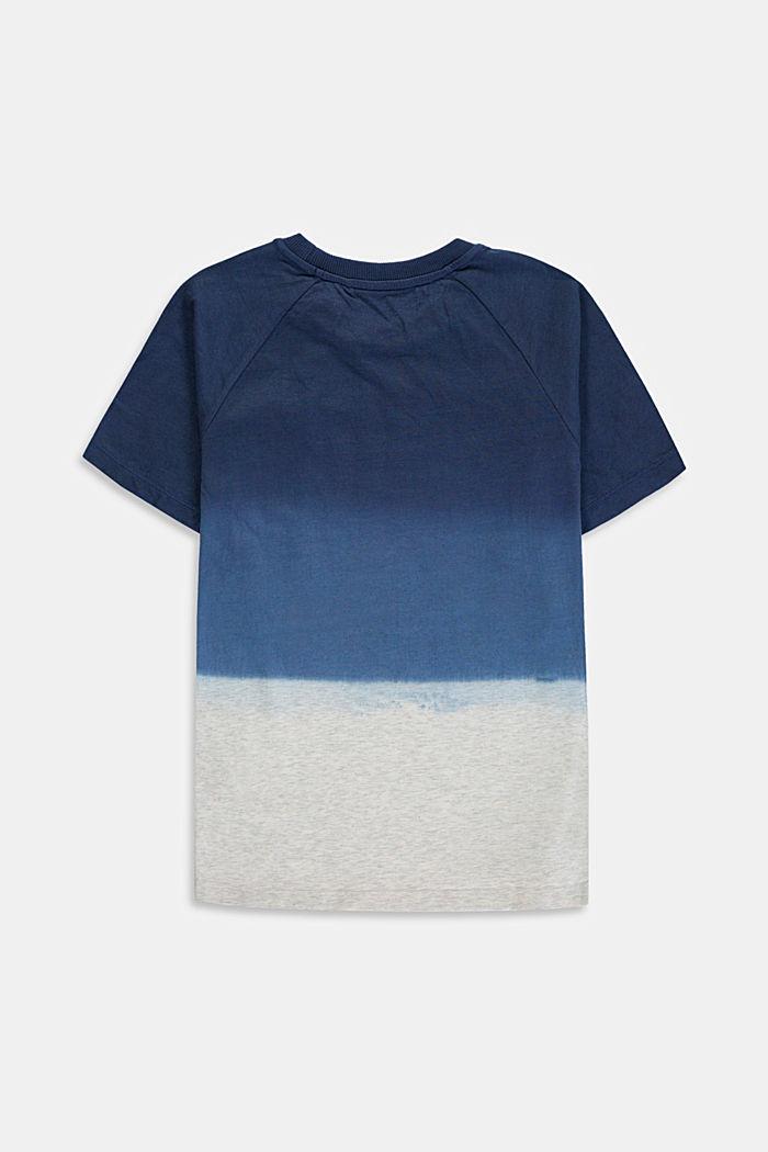 T-shirt met kleurverloop van 100% katoen, DUSTY NUDE, detail image number 1