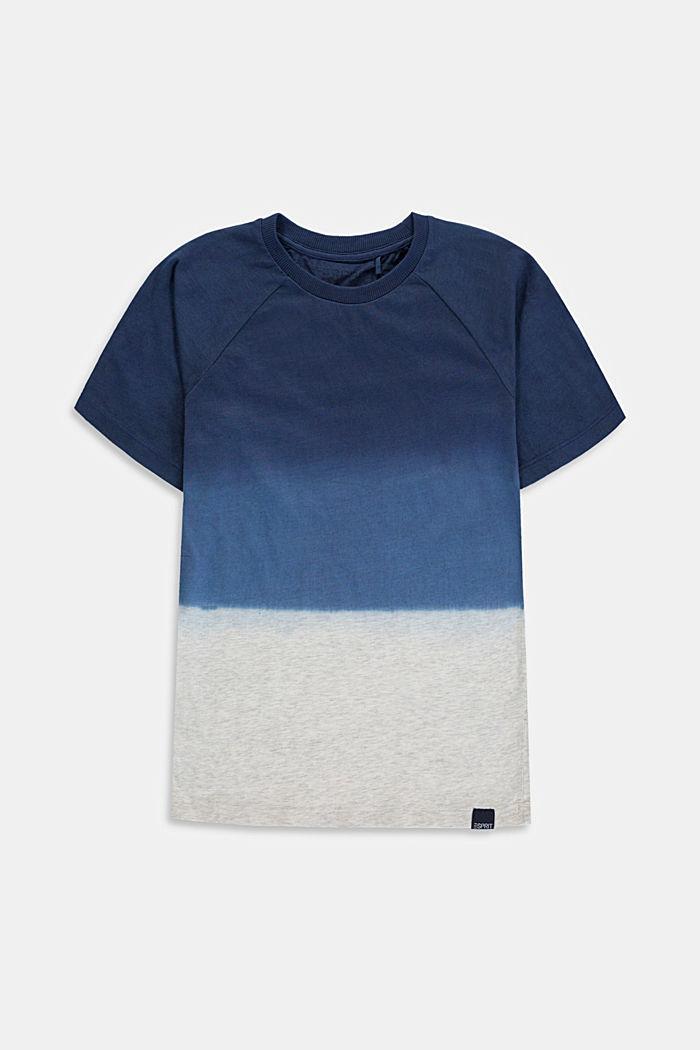 T-shirt met kleurverloop van 100% katoen, DUSTY NUDE, detail image number 0
