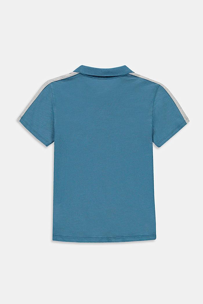 Jersey-Poloshirt aus 100% Baumwolle