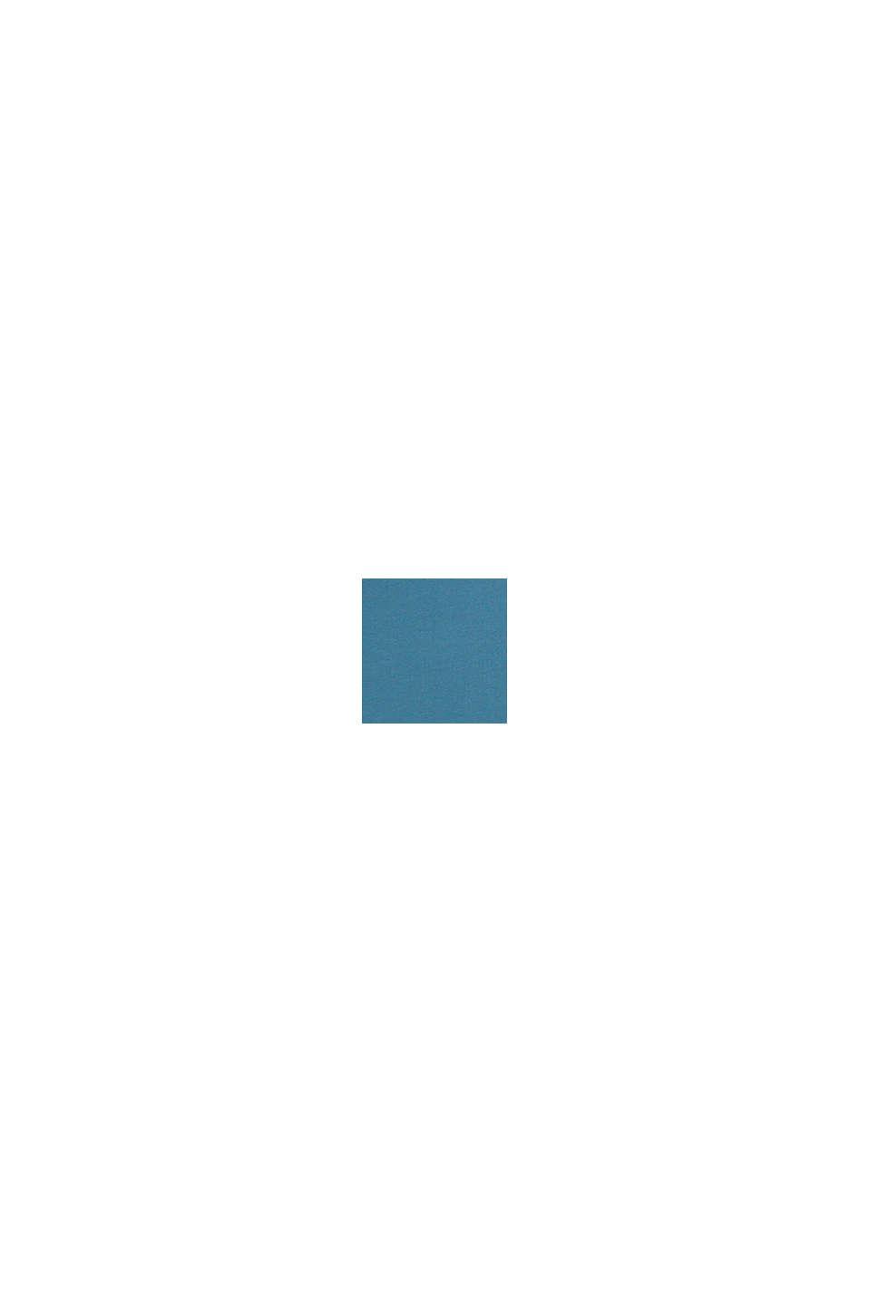 Jersey-Poloshirt aus 100% Baumwolle, GREY BLUE, swatch