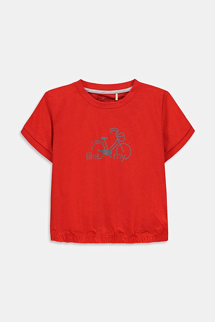 T-paita, jossa heijastava painatus