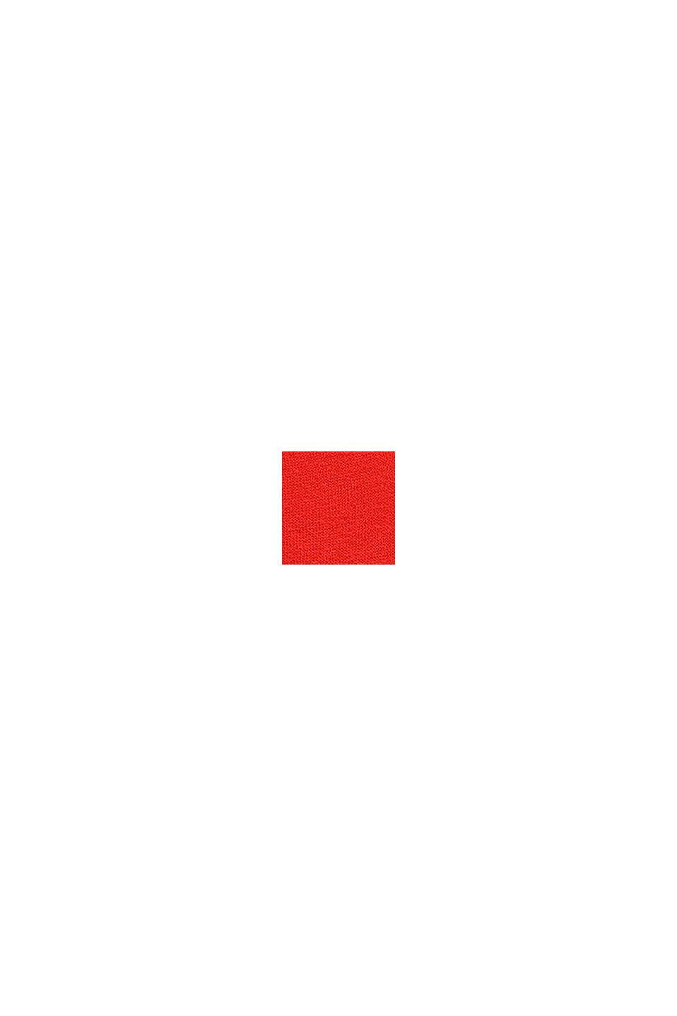 Collegepaita, jossa heijastava painatus, RED, swatch