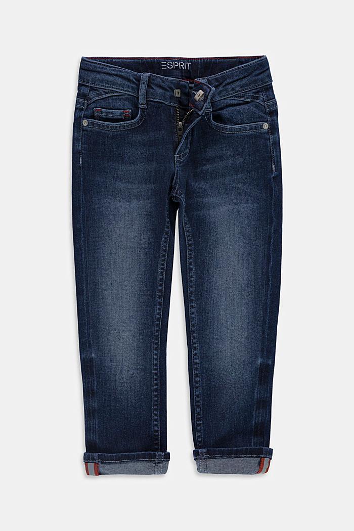 Reflekterende jeans med justerbar linning