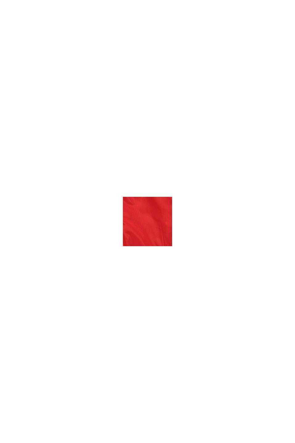 Funktionell regnjacka med huva, RED, swatch
