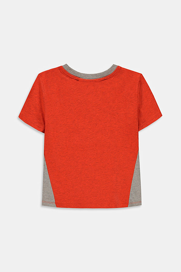 T-paita, jossa heijastava, graafinen painatus