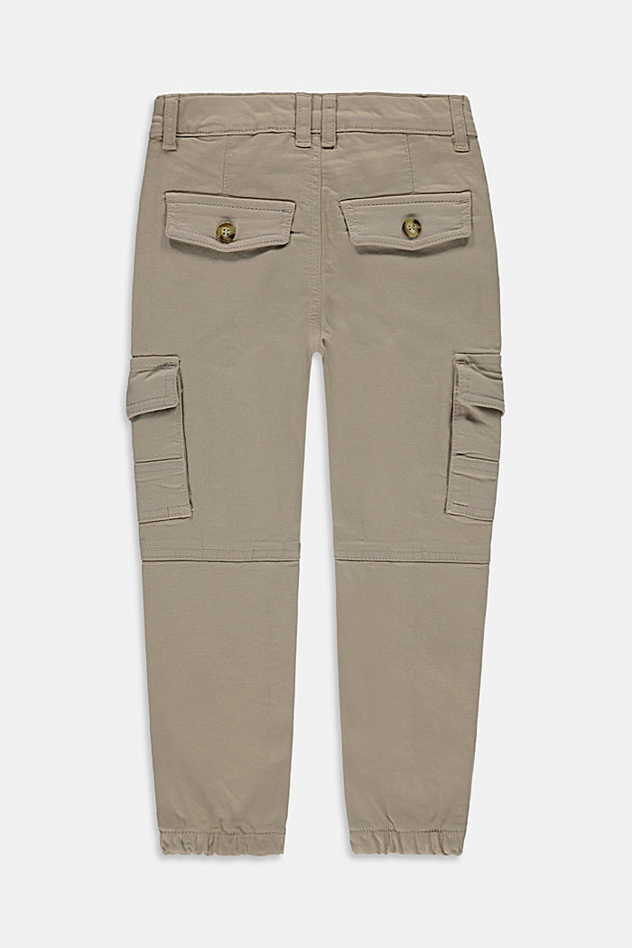Pantaloni cargo con vita regolabile, TOFFEE, detail image number 2
