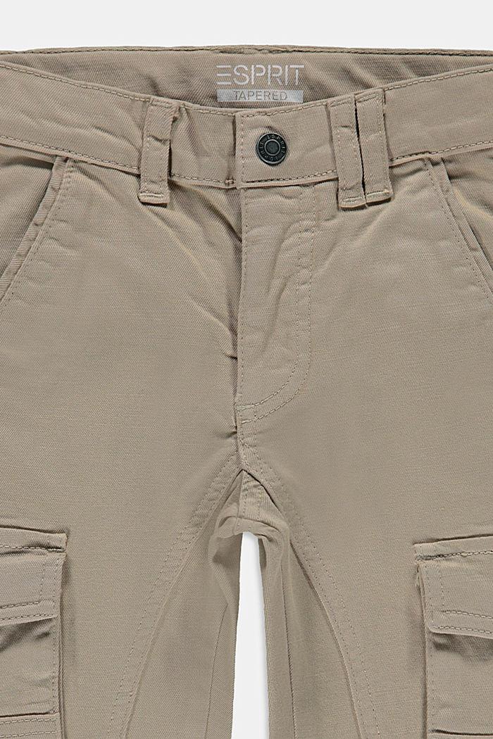 Pantaloni cargo con vita regolabile, TOFFEE, detail image number 1