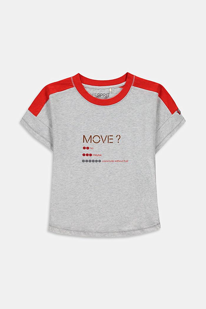 T-Shirt mit reflektierendem Print