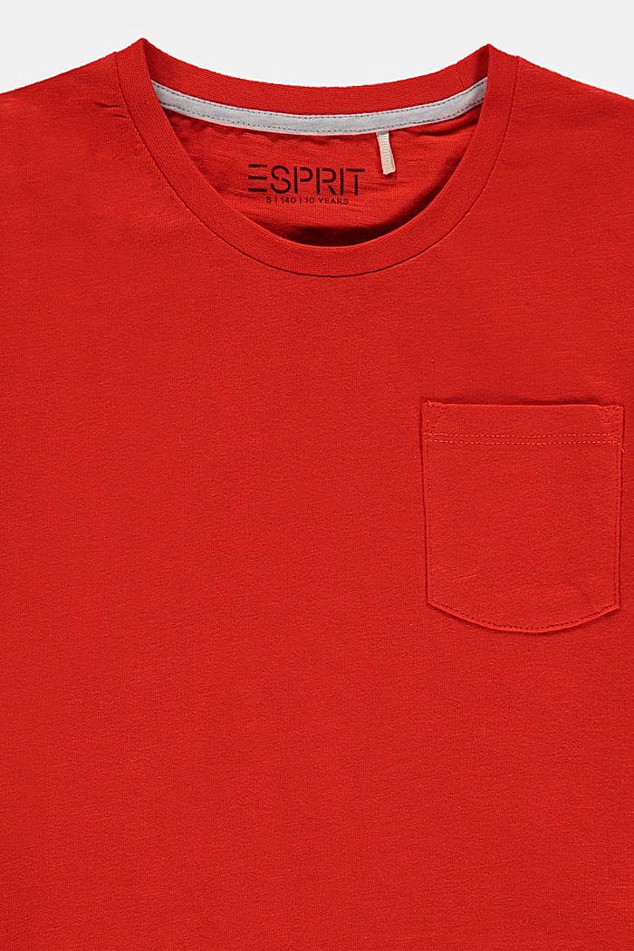 T-shirt de coupe carrée, à éléments réfléchissants, RED, detail image number 2