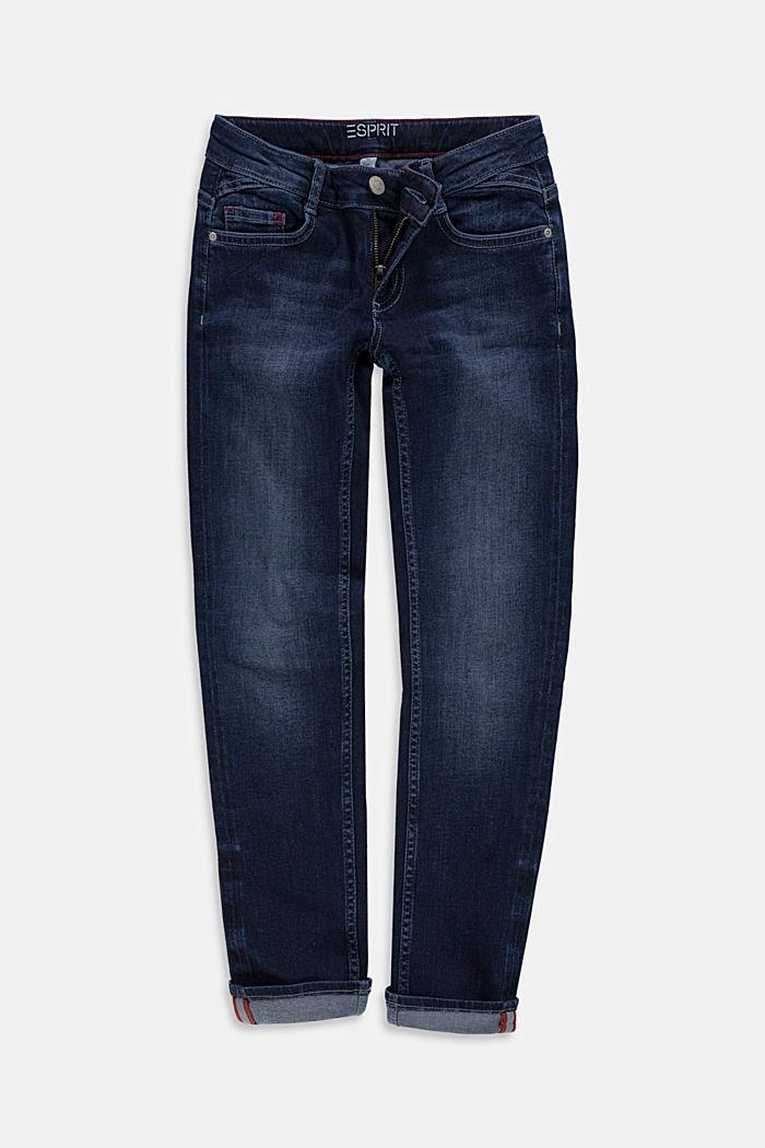 Reflekterande jeans med reglerbar linning