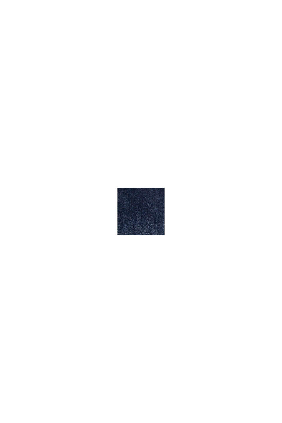 Reflekterande jeans med reglerbar linning, BLUE DARK WASHED, swatch