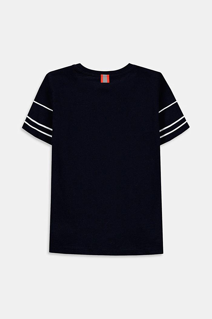 T-shirt met grafische print, 100% katoen