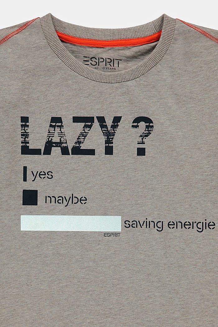 T-shirt met reflecterende print, TOFFEE, detail image number 2