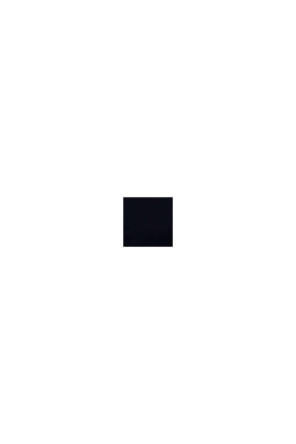 Reflekterande huvtröja med färgblock, NAVY, swatch