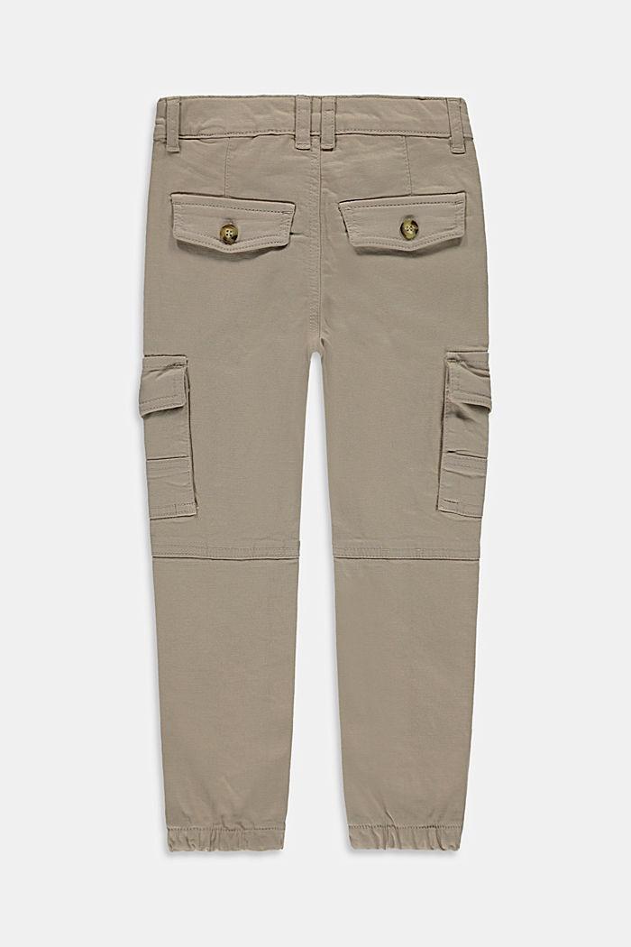 Pantalón cargo con cintura ajustable