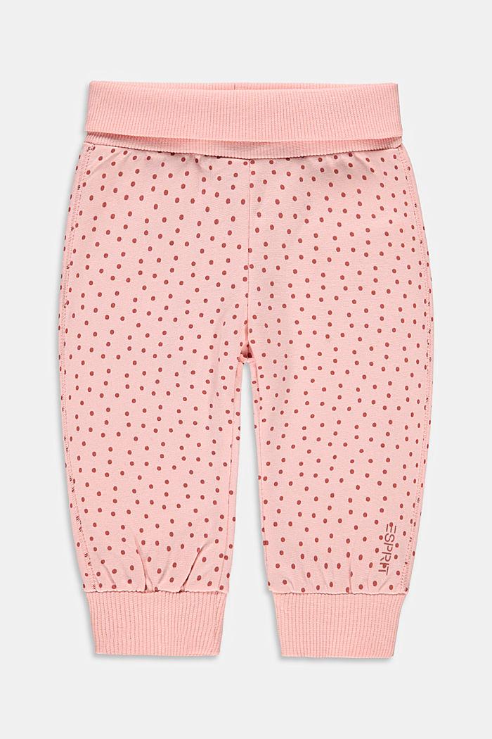 Pantalon de jogging à imprimé en coton bio