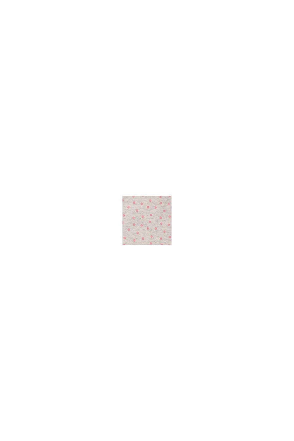 Overall med små prickar i ekobomull, SILVER, swatch