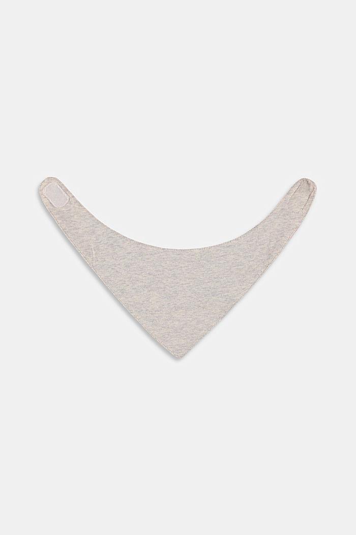Foulard à imprimé à pois, coton biologique