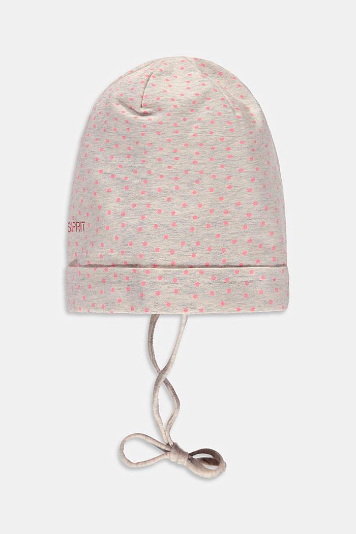 Bonnet pour bébé en coton biologique