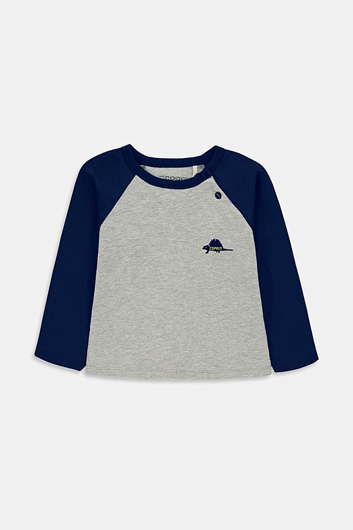 Långärmad T-shirt, ekologisk bomull