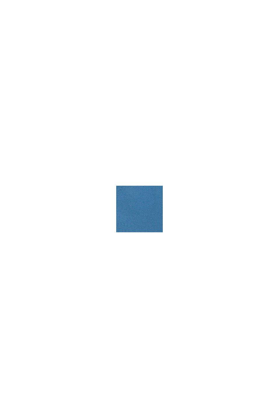 Långärmad topp m. tryck, biobomull, LIGHT BLUE, swatch