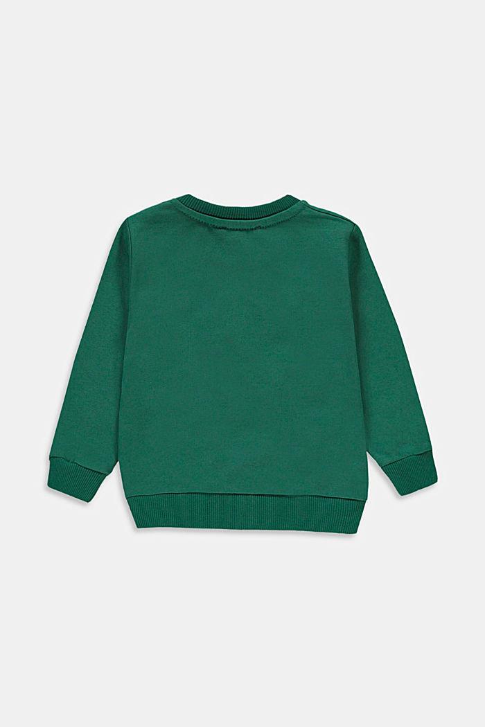 Sweatshirt with a print, 100% cotton