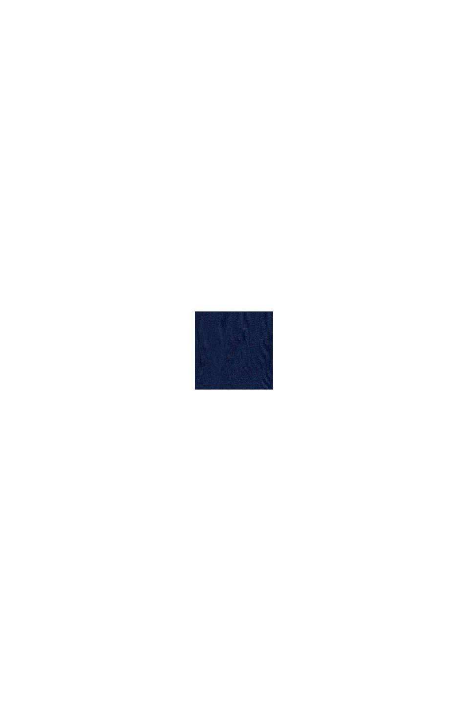 Pantalon en velours côtelé à taille ajustable, en coton, BLUE, swatch