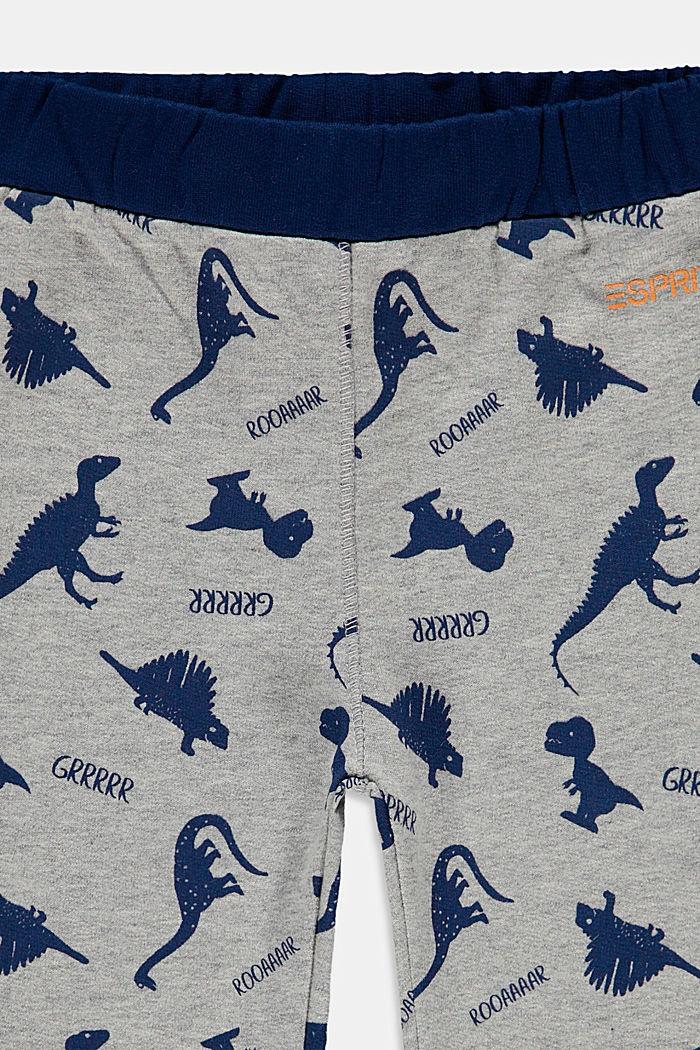 Pantalón jogging de algodón ecológico, MEDIUM GREY, detail image number 2