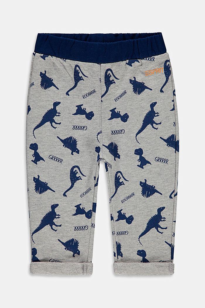 Pantalón jogging de algodón ecológico, MEDIUM GREY, detail image number 0