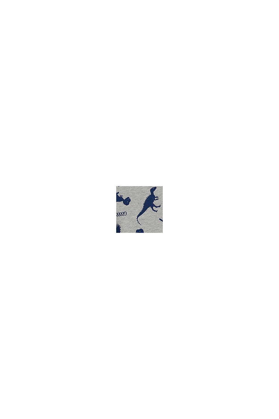 Pantalon de jogging en coton bio, MEDIUM GREY, swatch
