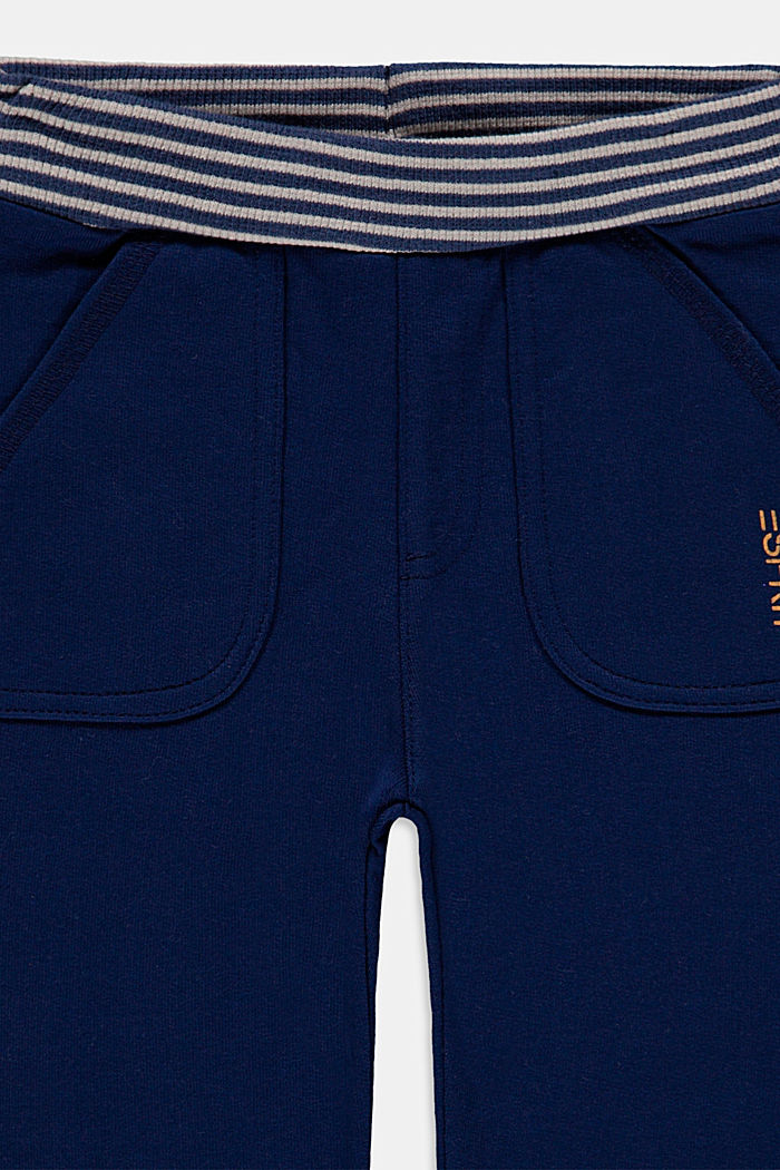 Pantalón jogging de algodón ecológico, BLUE, detail image number 2