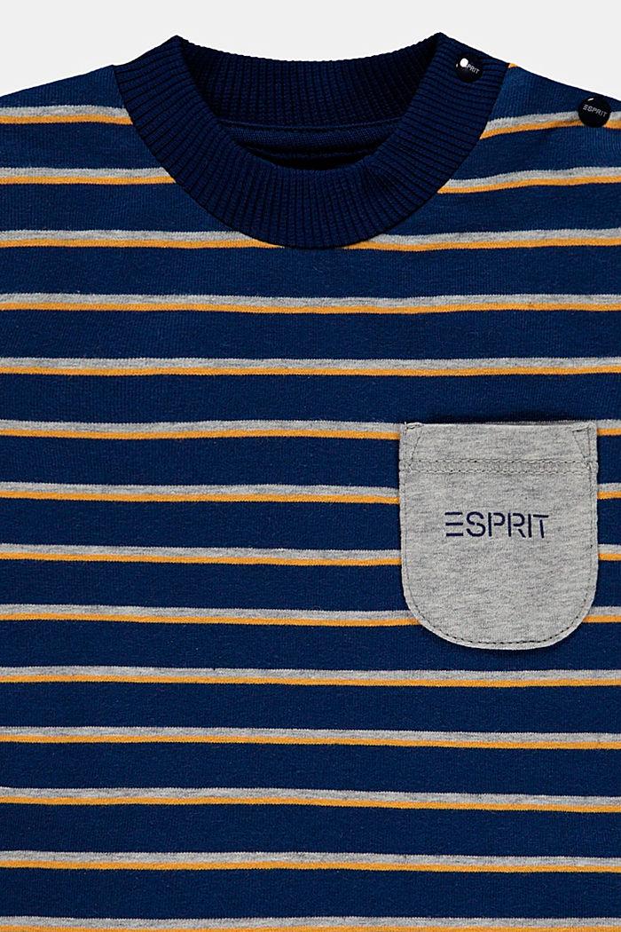 Conjunto: parte superior y pantalón de algodón ecológico, BLUE, detail image number 2