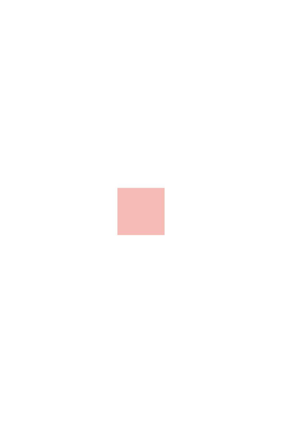 Felpa a blocchi di colore con stampa glitterata, PASTEL PINK, swatch
