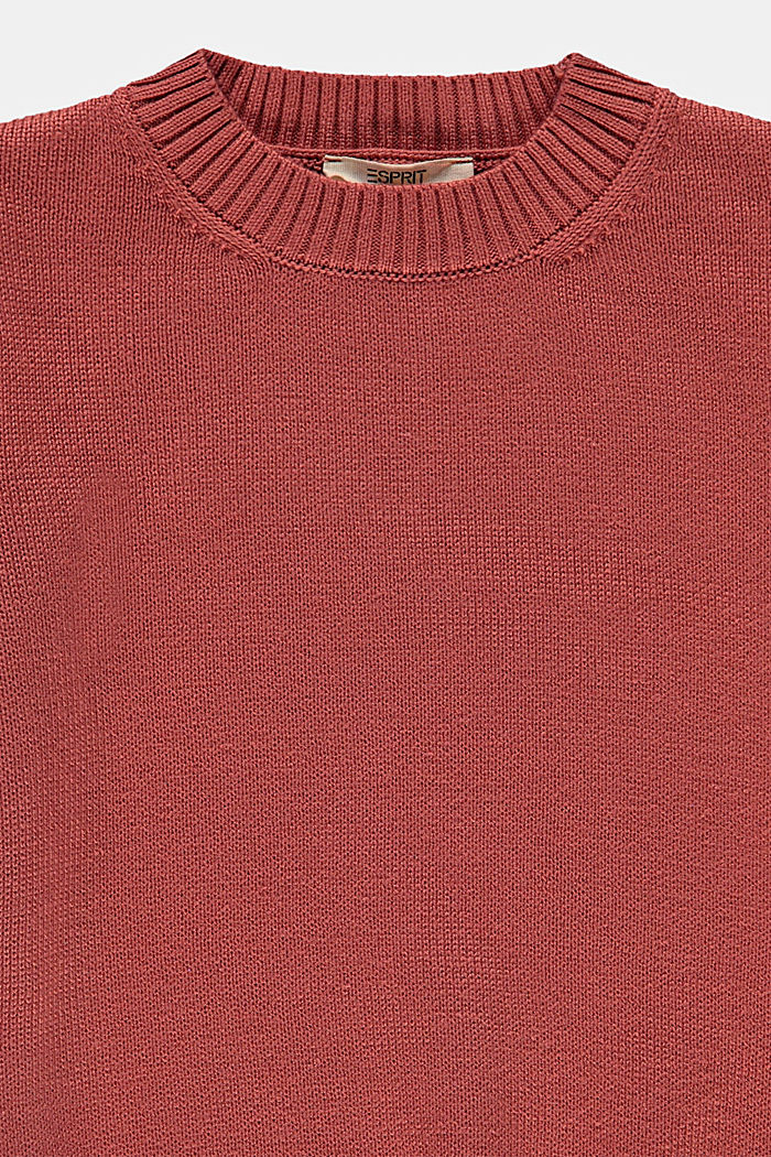 Pullover a righe in misto cotone, DARK MAUVE, detail image number 2