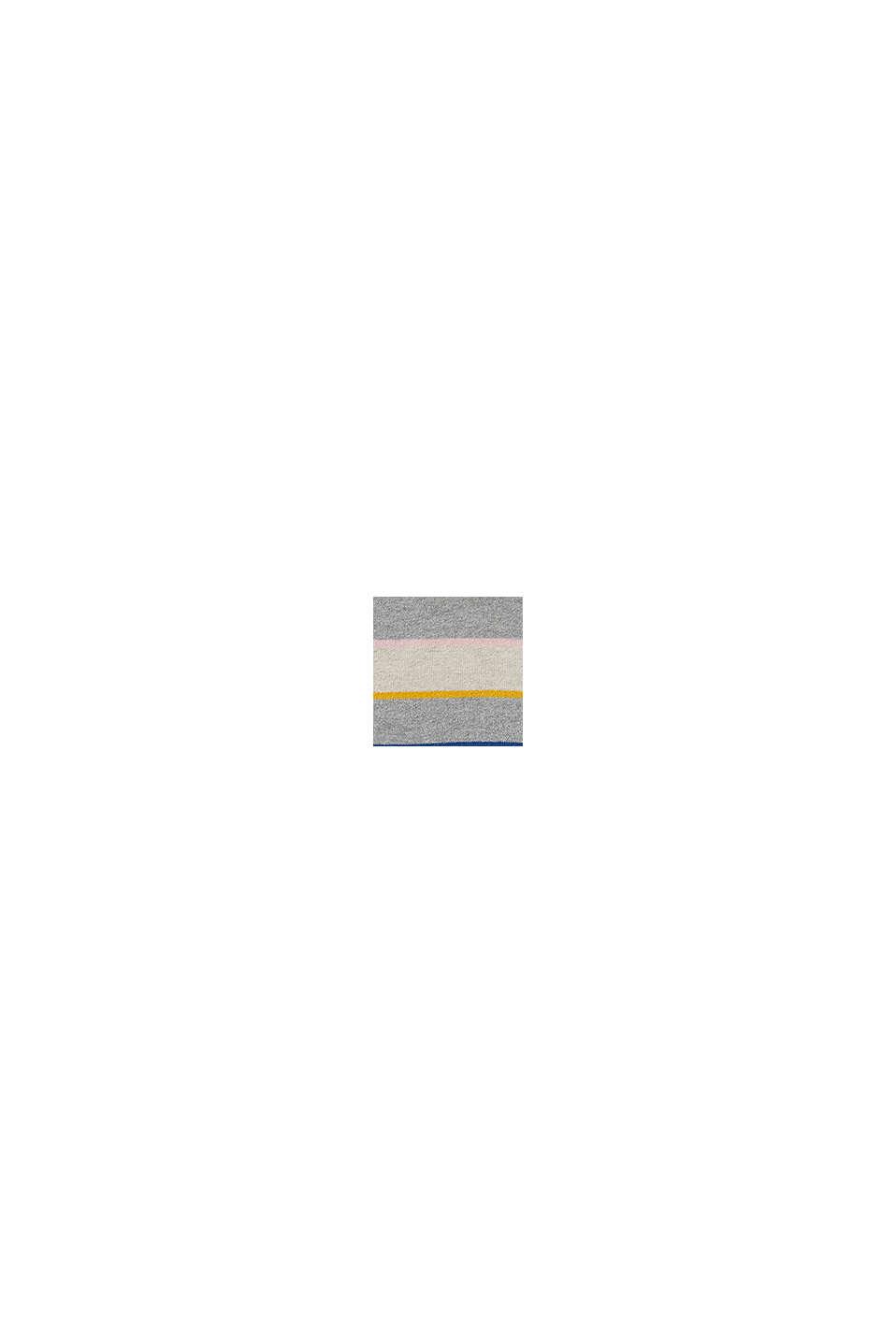 Bonnet orné de maille polaire, en coton mélangé, SILVER, swatch