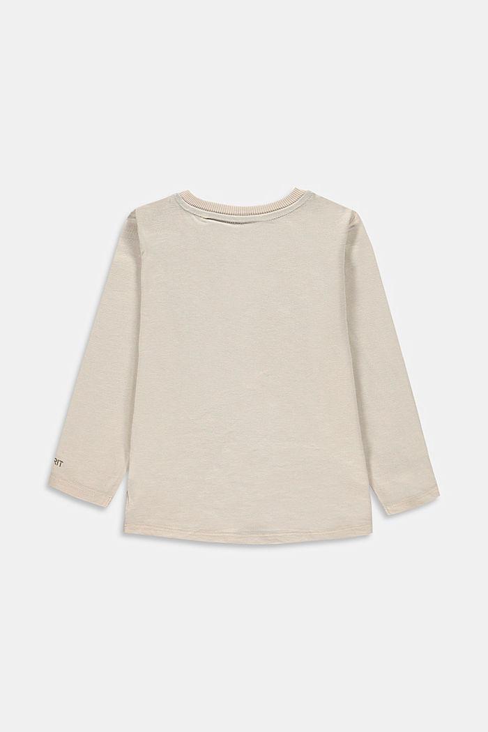 Longsleeve mit Print aus 100% Baumwolle, ICE, detail image number 1