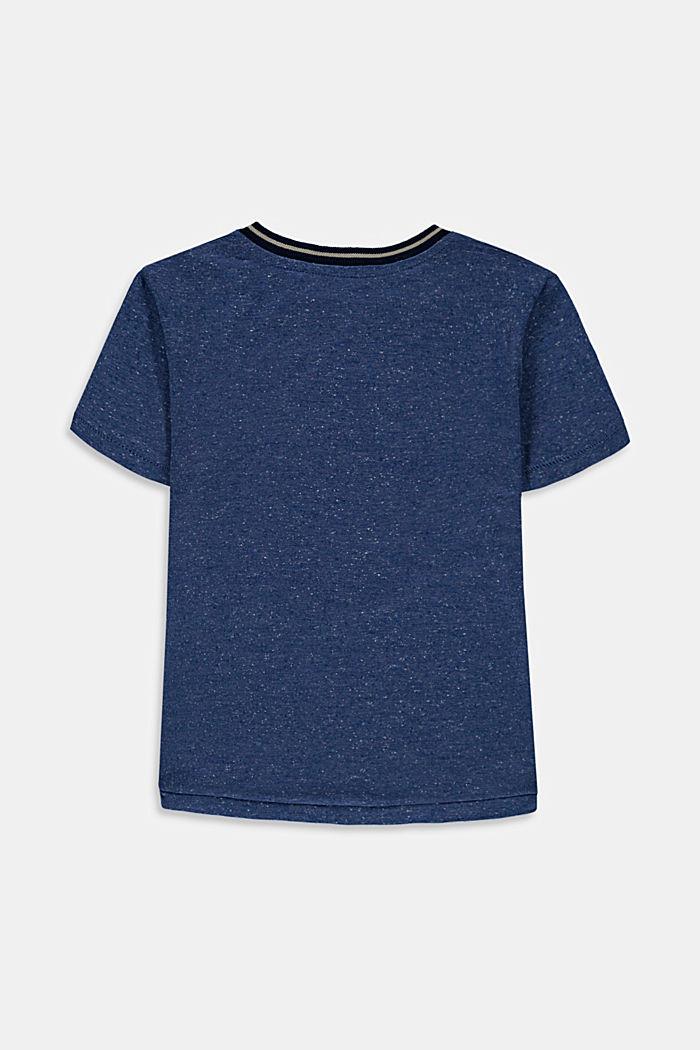 T-shirt z nadrukiem, 100% bawełny, BLUE, detail image number 1