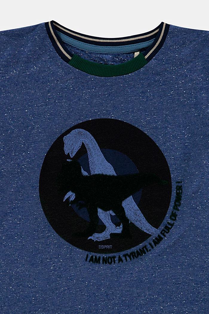 T-shirt z nadrukiem, 100% bawełny, BLUE, detail image number 2