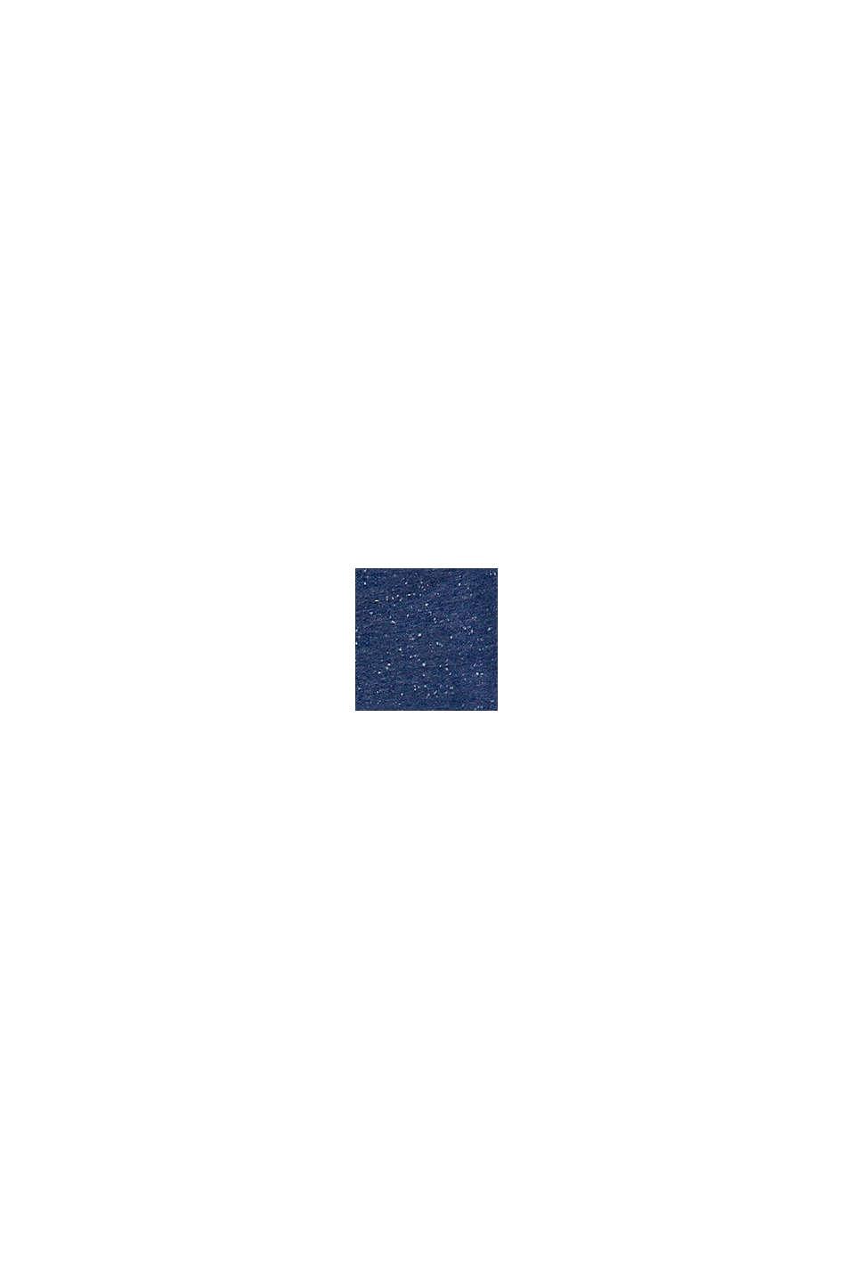 T-shirt met print, van 100% katoen, BLUE, swatch
