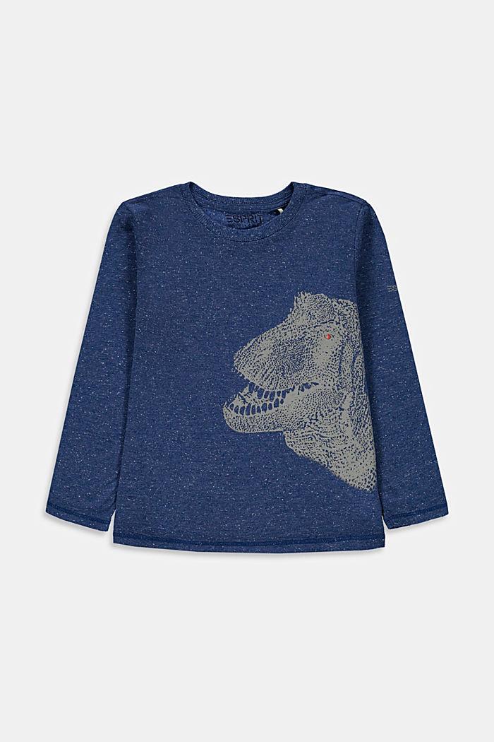 Koszulka z nadrukiem, 100% bawełny, BLUE, detail image number 0