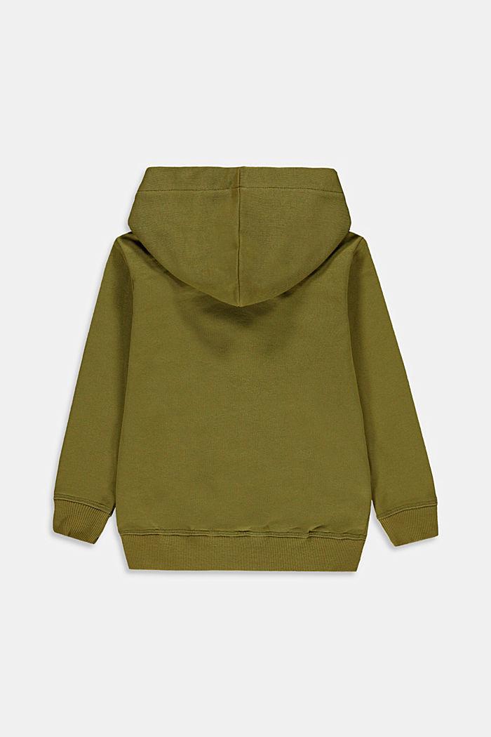Hoodie met logo, 100% katoen