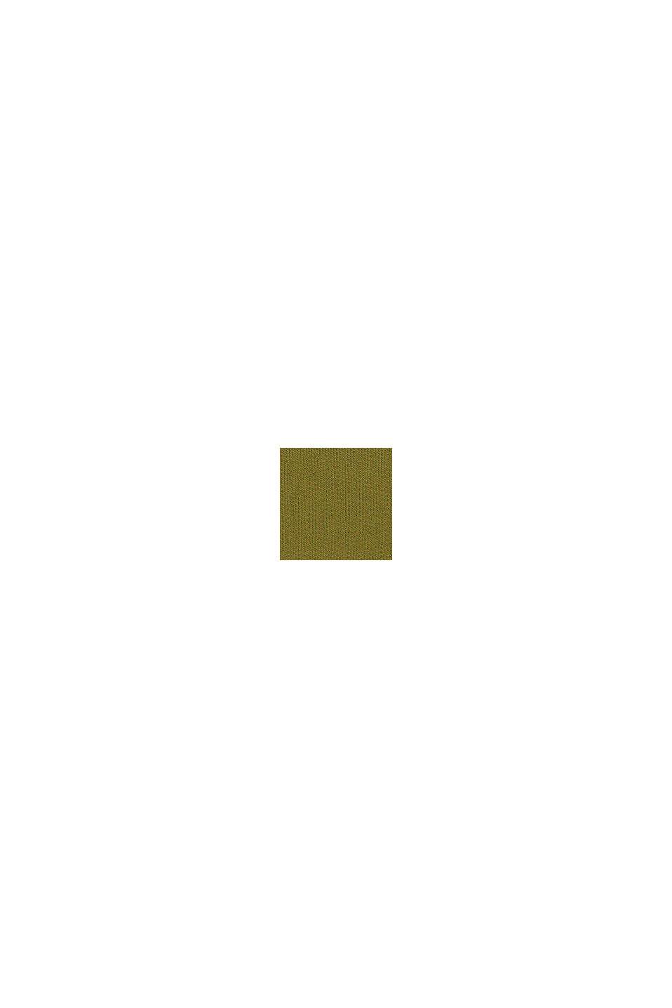 Hoodie met logo, 100% katoen, LEAF GREEN, swatch