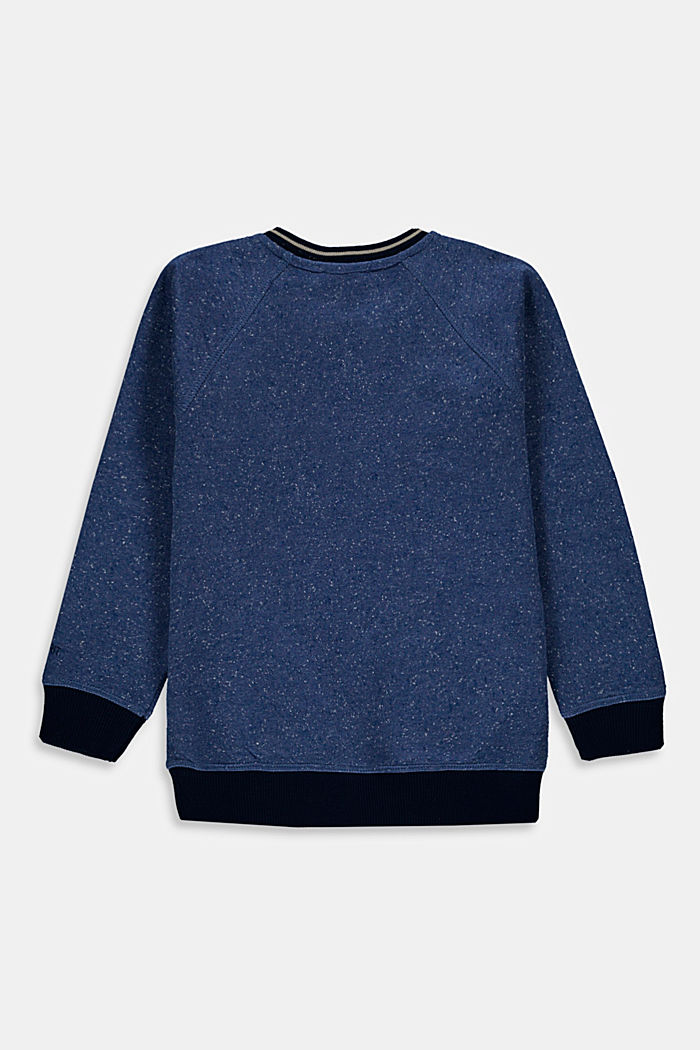 Sweat-shirt à motif artistique en 3D, 100% coton