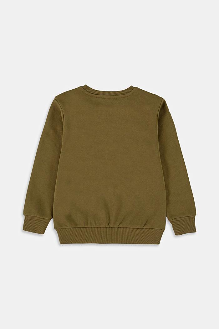 Sweatshirt met statement van 100% katoen