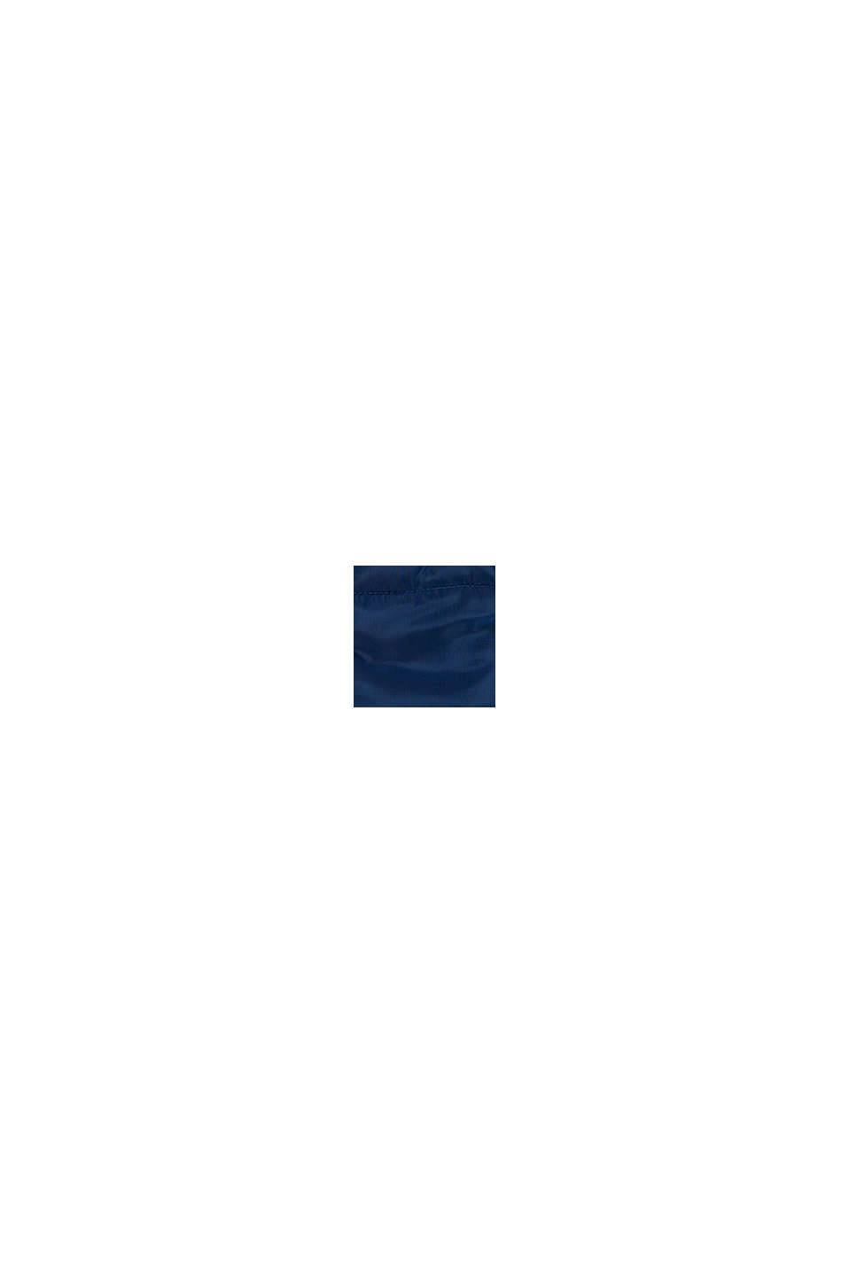 Quiltad väst med färgblock och reflekterande detaljer, BLUE, swatch