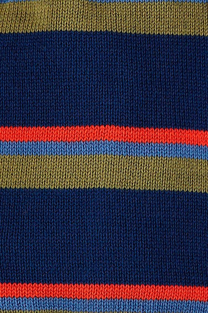 Bonnet à rayures 100% coton
