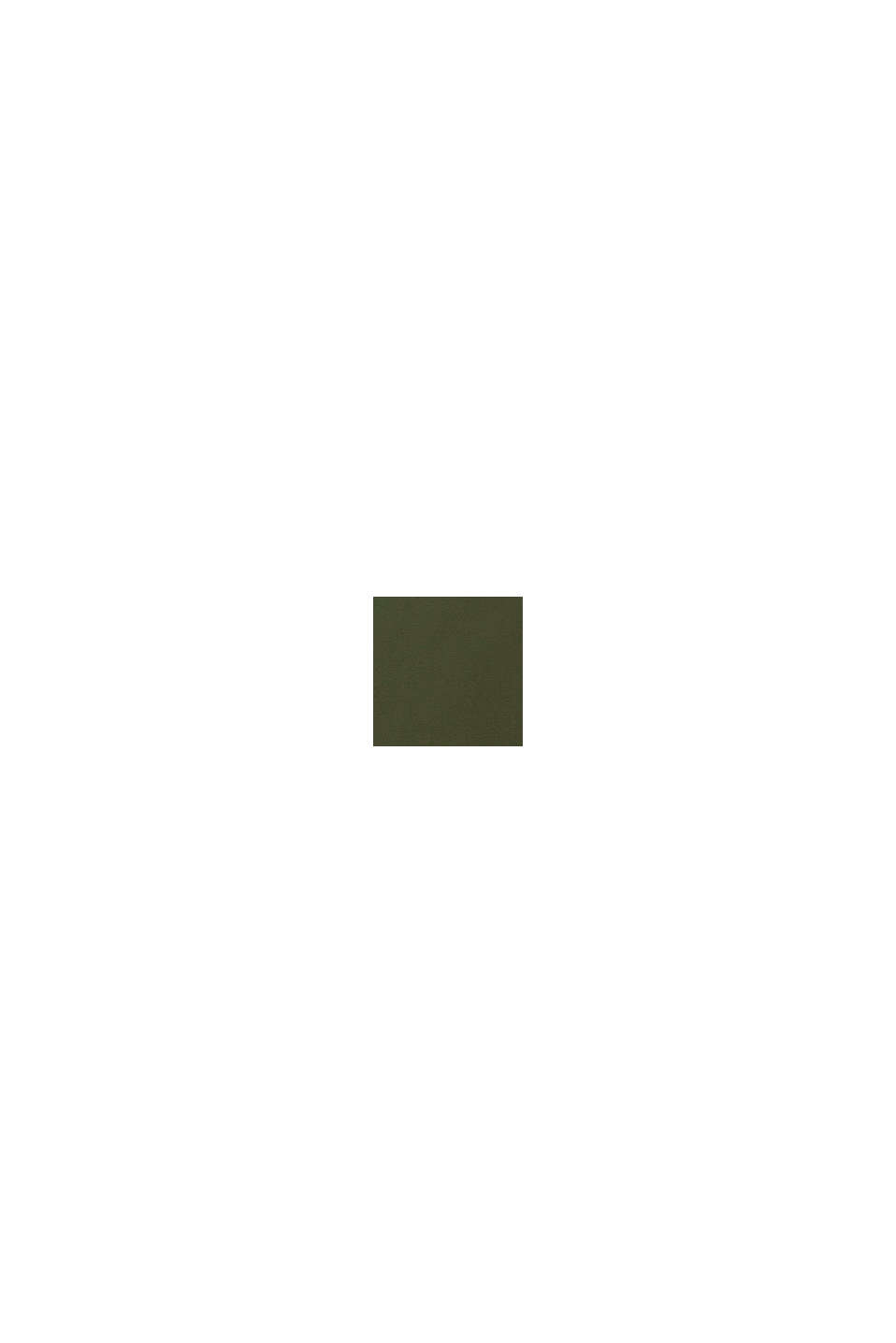 Longsleeve mit Metallic-Print, KHAKI GREEN, swatch